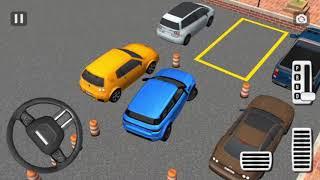 Direksiyonlu Range Rover Park Etme Oyunu SUV Araba Oyunları