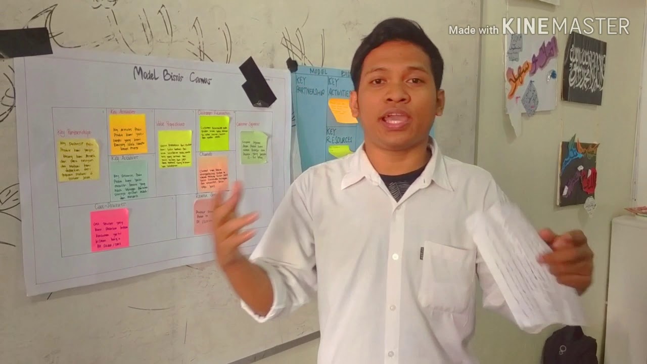 Model Bisnis Canvas (Makanan) - YouTube