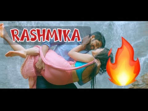 Rashmika Mandanna Hot stills from CHALO Telugu Movie | 2018 | FULL VIDEO SONG.