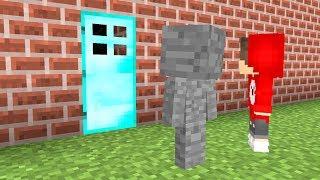 Was ist hinter dieser Diamant Tür in Minecraft ?