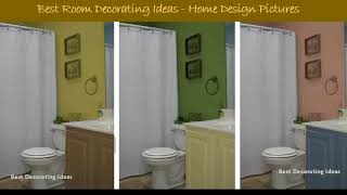 Bathroom designs wall colors | Inspirational Interior Design decor Picture Idea for Your Modern