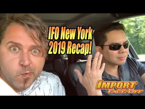 IFO West Lebanon Valley, NY 2019 Recap! Ghost Boy Aki, ImportDPS Crash, Lost $8659, and Foot Race!!!