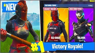 "*NEW* ""RED KNIGHT"" SKIN Gameplay UPDATE! (Fortnite Battle Royale ""RED KNIGHT SKIN"")"
