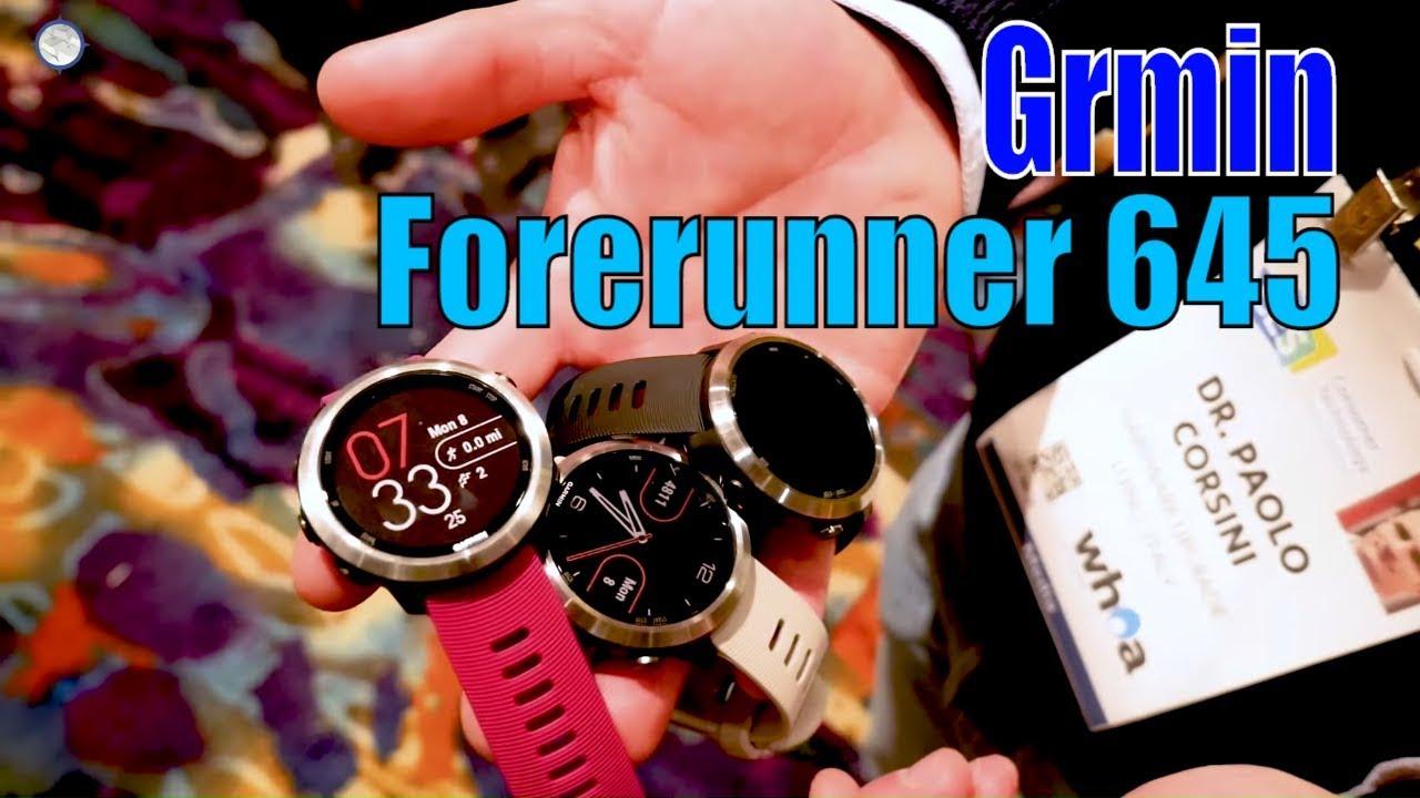 64a8b68653007a Garmin Forerunner 645 Music, il nuovo sportwatch per allenarsi con ritmo