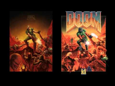 Doom II - DOOM (Map13) - Remake by Andrew Hulshult ( Brutal Doom Soundtrack )