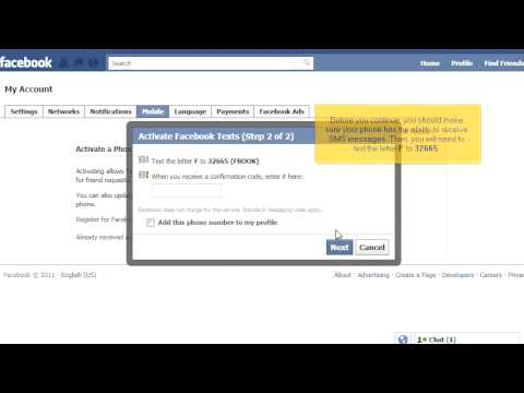 how to get facebook notifications on phone