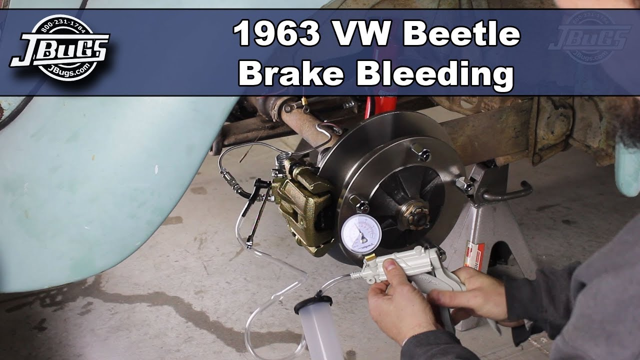 How To Bleed Brakes After Disc Brake Conversion