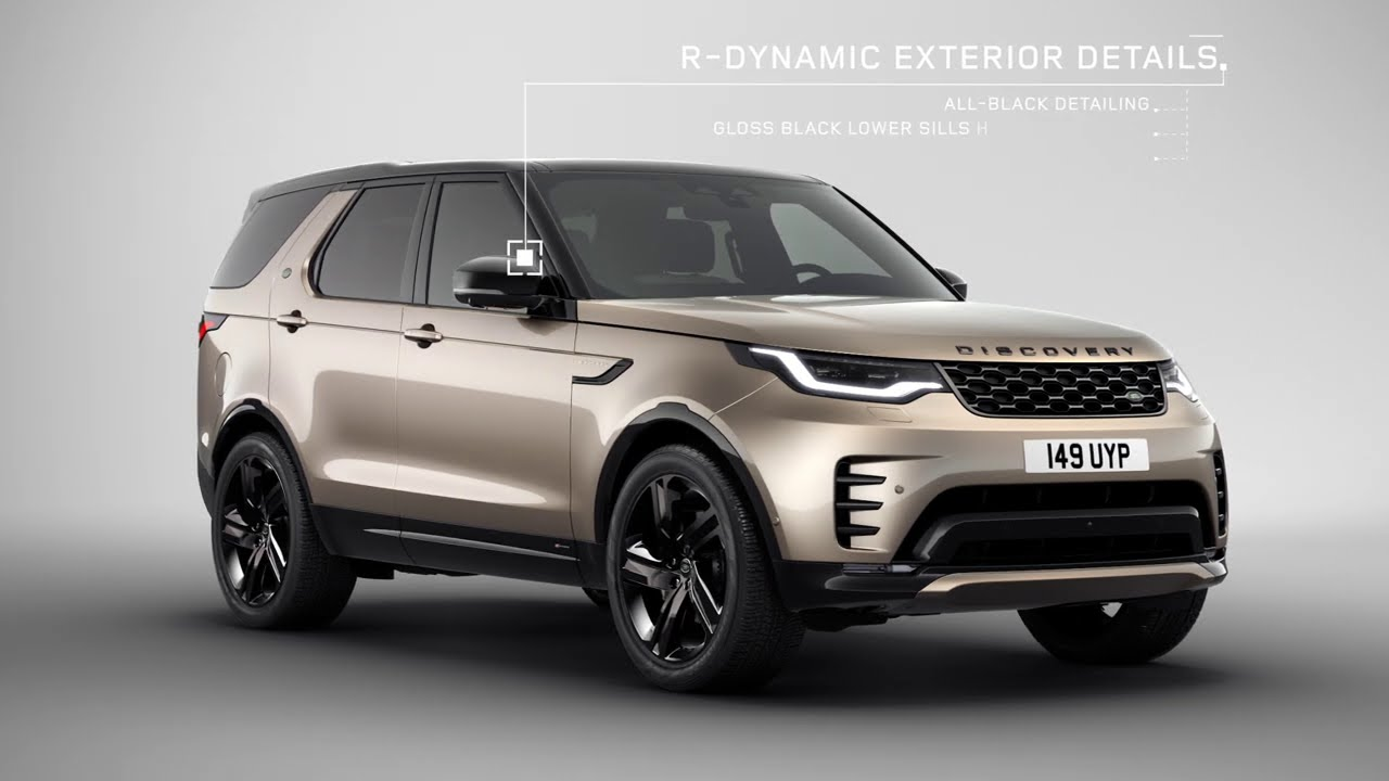 The New Land Rover Discovery – Sophisticated Design