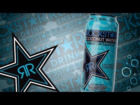 Wir Probieren #90 Rockstar Coconut Water