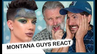 Is Sister James Charles ALL THAT Talented? (MONTANA GUYS REACT)
