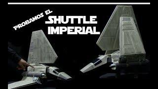 Shuttle Tydirium Lambda Class El Regreso del Jedi Juguetes Hasbro  Star Wars Español