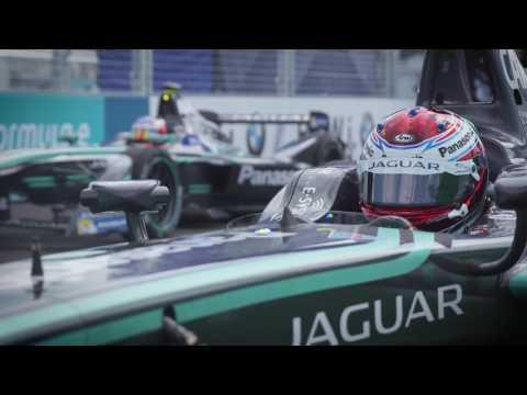 2017 NYC Formula E: Panasonic Jaguar Racing Highlights Race 1