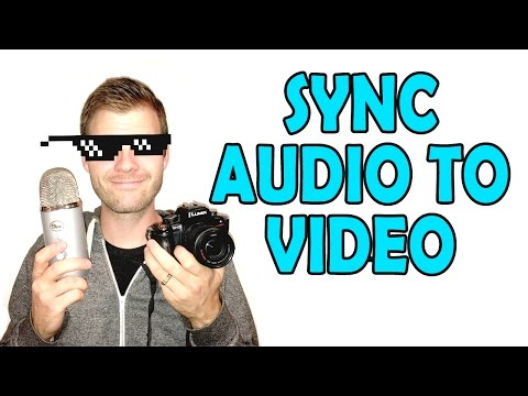 Syncing Camera Footage with Mic Audio for Music and Podcasts