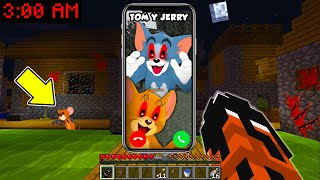 ¡NUNCA LE HABLES A TOM Y JERRY A LAS 3 AM! 😭 | SRGATO VS TOM Y JERRY PELÍCULA EN MINECRAFT TROLL