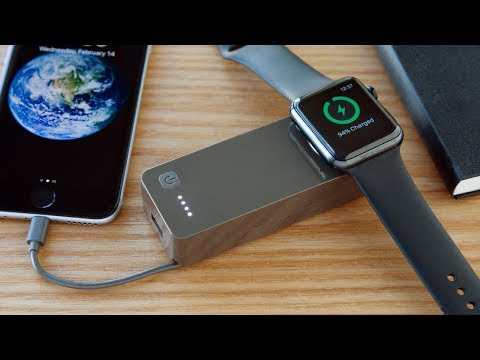 A 3-in-1 Apple Watch charging solution.
