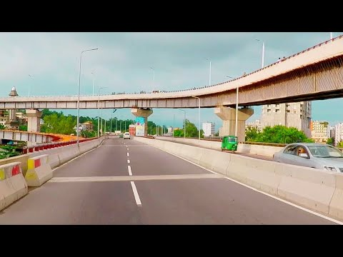 BEST Road Drive View Of Chittagong City