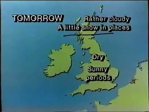 BBC1 closedown - Sun 17 Feb 1985 - last one with old globe!