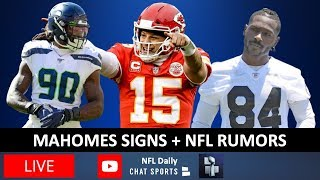 NFL Daily - Patrick Mahomes Contract Extension News With Tom Downey (July 6th)