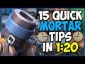 15 QUICK Tips About: The Mortar💥- Clash Royale