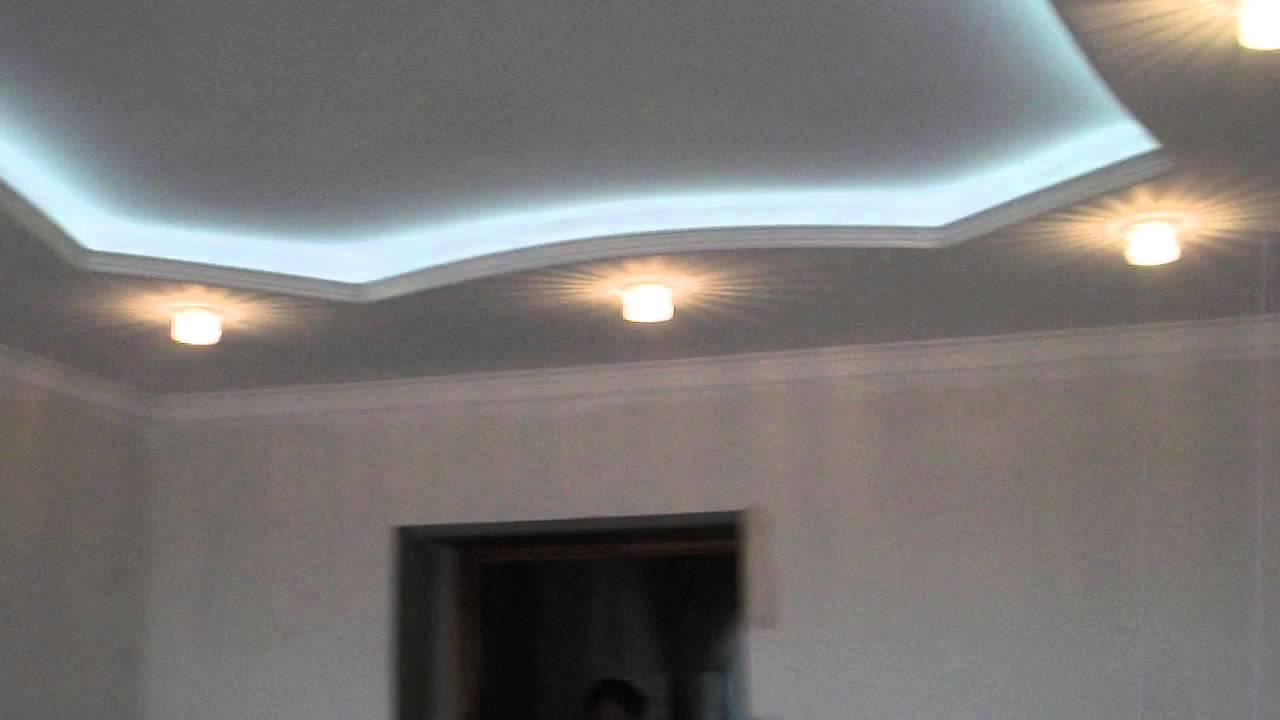 2 уровневый потолок из гипсокартона своими руками фото 618