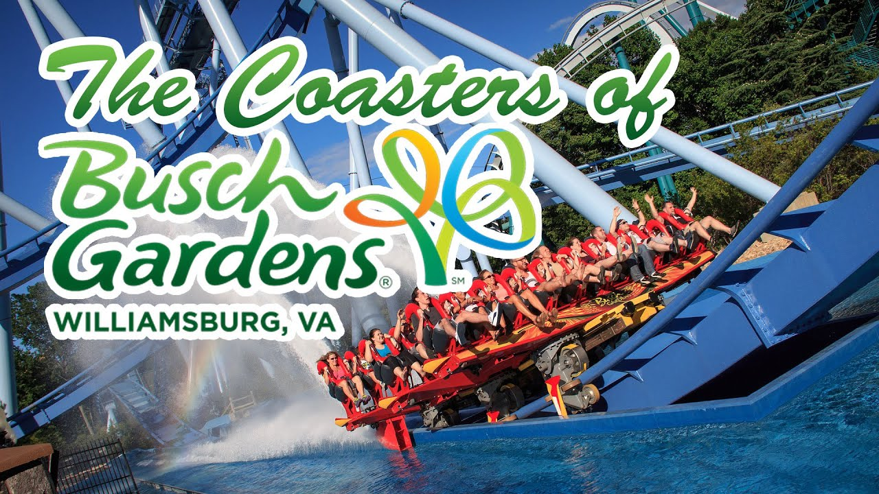 Superb The Roller Coasters Of Busch Gardens Williamsburg YouTube Nice Ideas