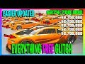 *UPDATED* Easier Everything FREE GTA 5 Online Money Glitch! (PS4!!)