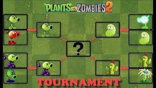 Plants vs Zombies 2 | Mod Tournament Every Plant Level 1 | Pvz 2 Gameplay
