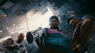 Cyberpunk 2077 Official New Developer Gameplay_ Combat and Cyberskills Gameplay