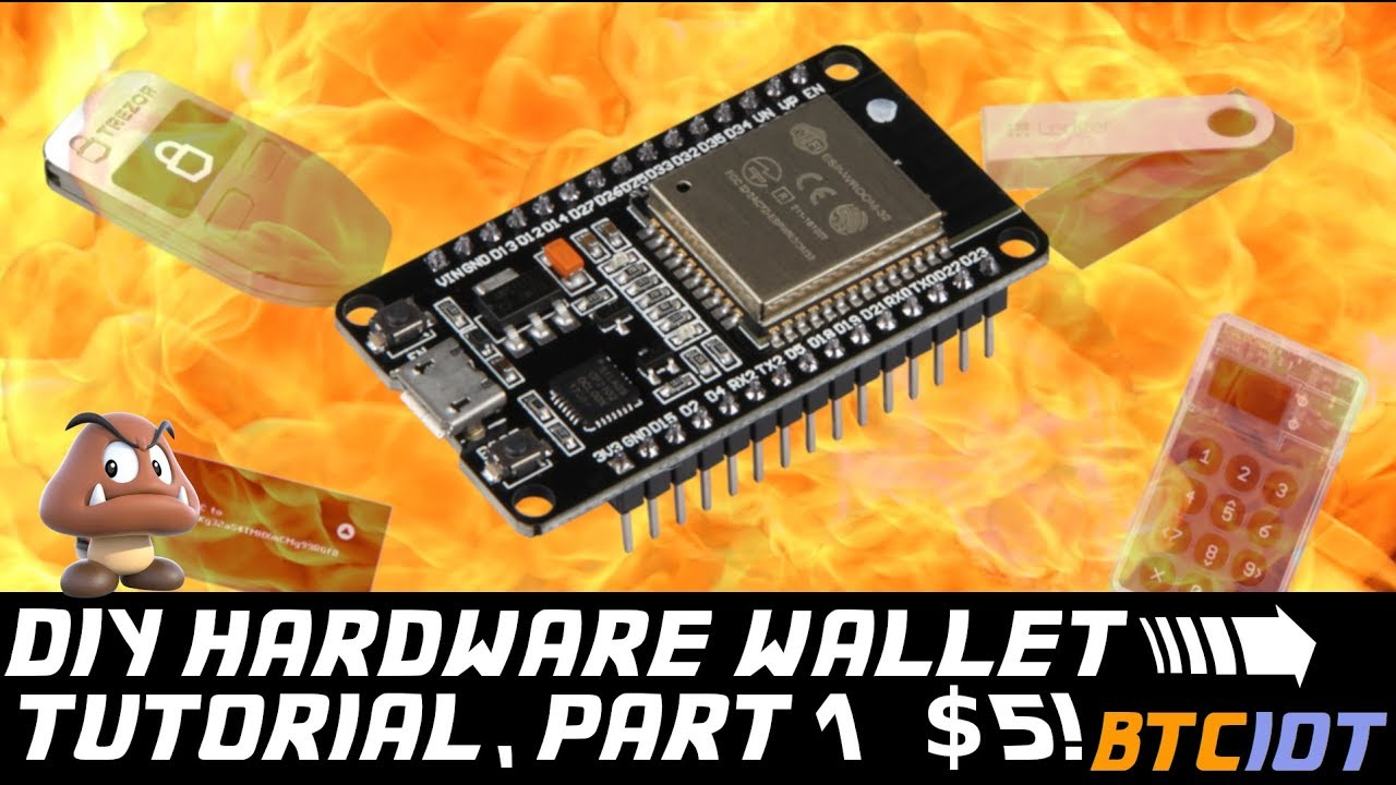 make a cryptocurrency hardware wallet
