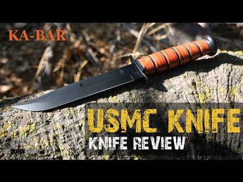 Kabar USMC Fighting Utility Knife Review   OsoGrandeKnives