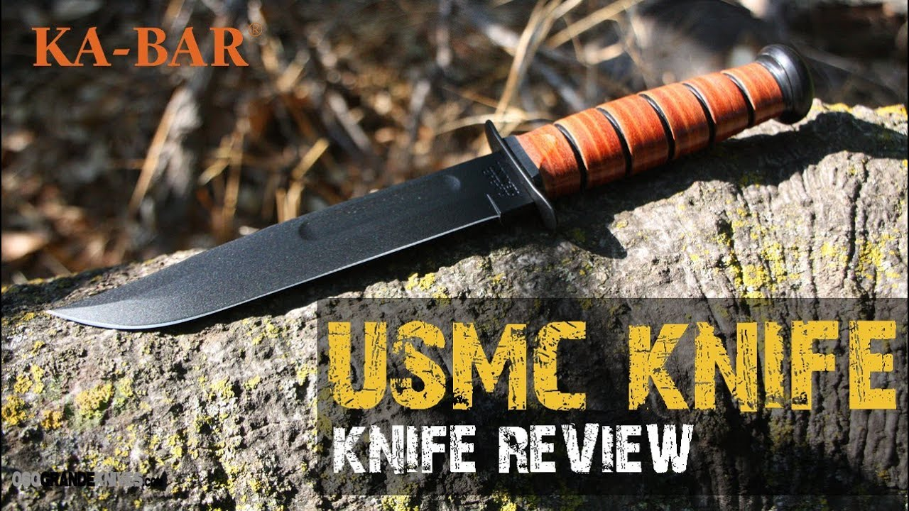 Kabar USMC Fighting Utility Knife Review | OsoGrandeKnives
