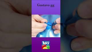Decoracion con globos Tuky - gustavo gg #shorts