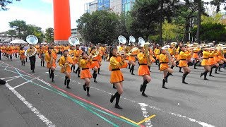 京都学生祭典オープニングパレード 京都橘高校吹奏楽部 Kyoto Tachibana SHS Band