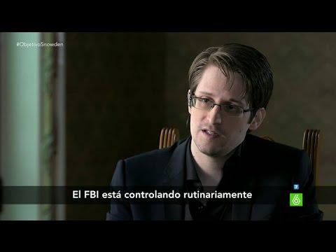 """Snowden: """"El FBI controla los móviles de los manifestantes"""""""