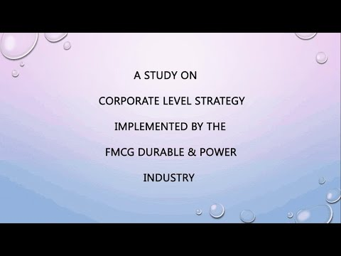 FMCG & Power sector Strategy in India