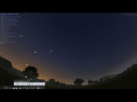 아틀라스 Atlas 혜성 예상 궤적
