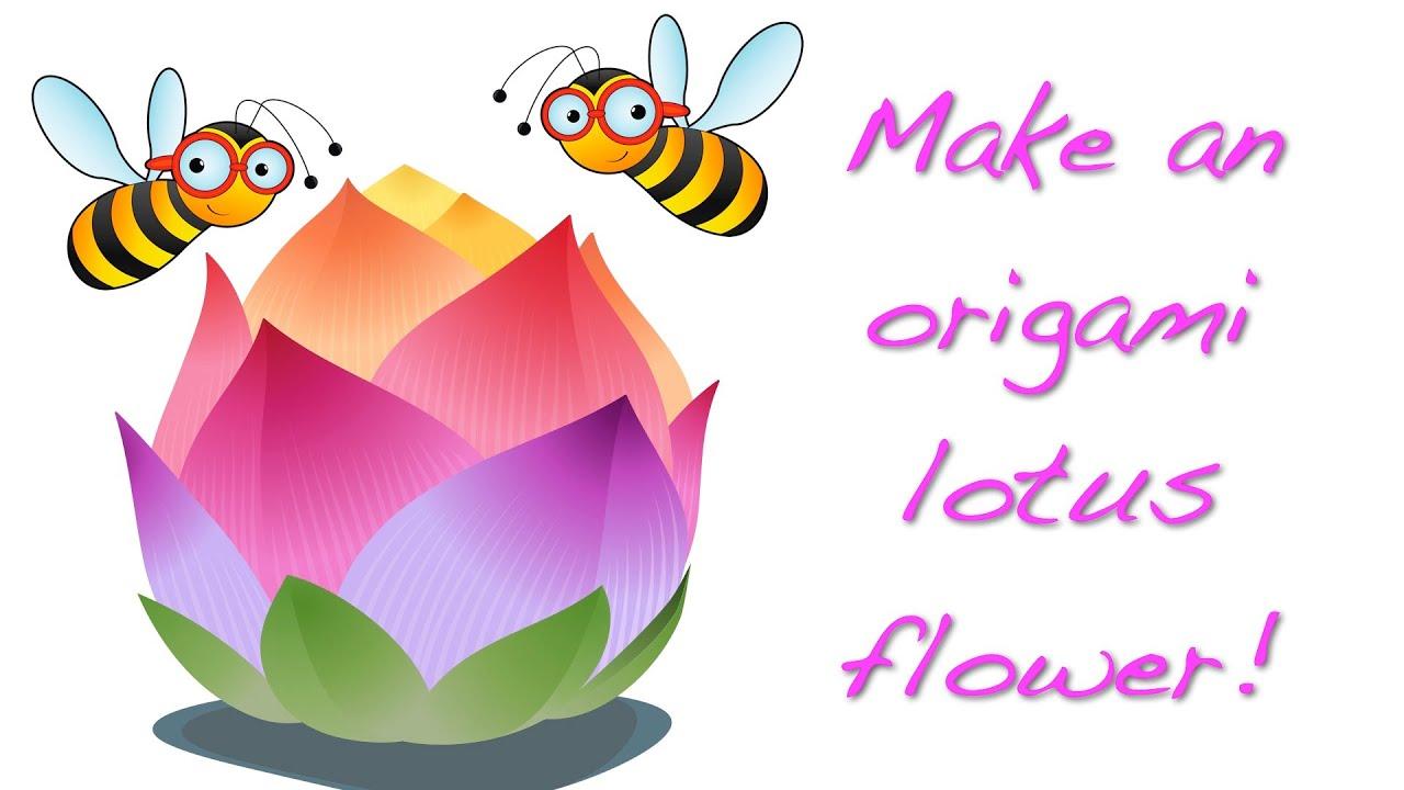 Origami Lotus Flower HI RES