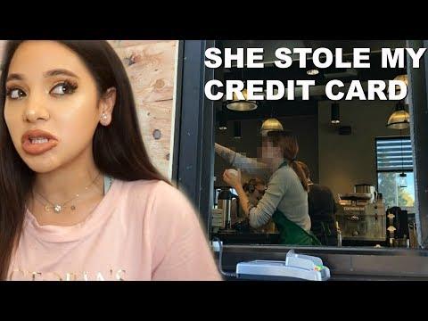 BARISTA STOLE MY CREDIT CARD