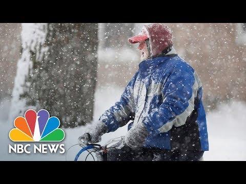 Weather 'Bomb Cyclone' Threatens East Coast, Bringing Snow, Cold, Ice | NBC News