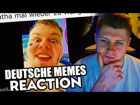 Harmii Reagiert auf deutsche memes die im stehen schlafen