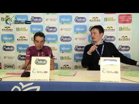 Giro del Trentino Melinda 2015: Richie Porte's press conference April 24th