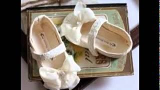 Toddler flower girl shoes
