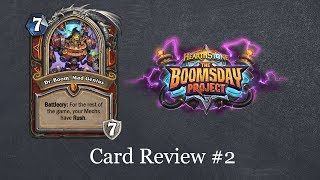 Hearthstone Quick Take: Boomsday Card Review #2