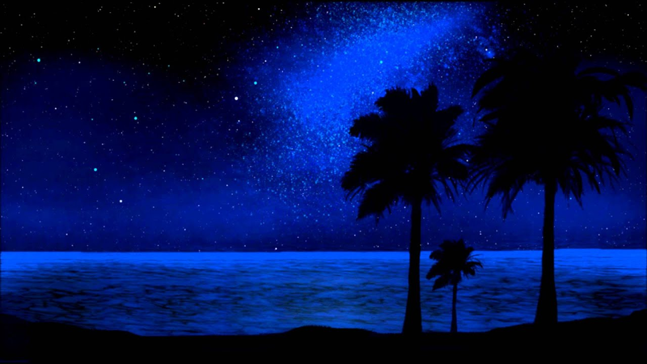 (Whisper) Tropical Night Sky Relaxation - YouTube
