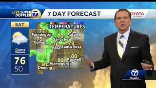 Chief Meteorologist Joe Diaz says the winds will increase tonight, ...