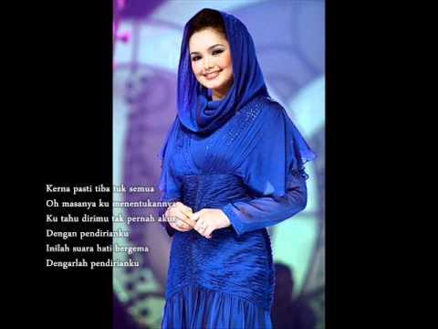 Siti Nurhaliza - Pendirianku