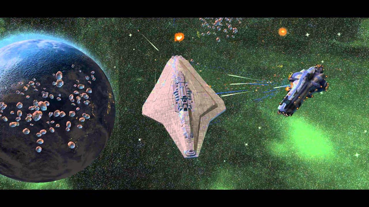 SW:Republic at War - Pride of the core VS Malevolence - 1 on 1 Battle