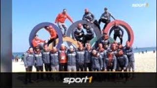 Olympia: So relaxen Deutschlands Eishockey-Helden   SPORT1