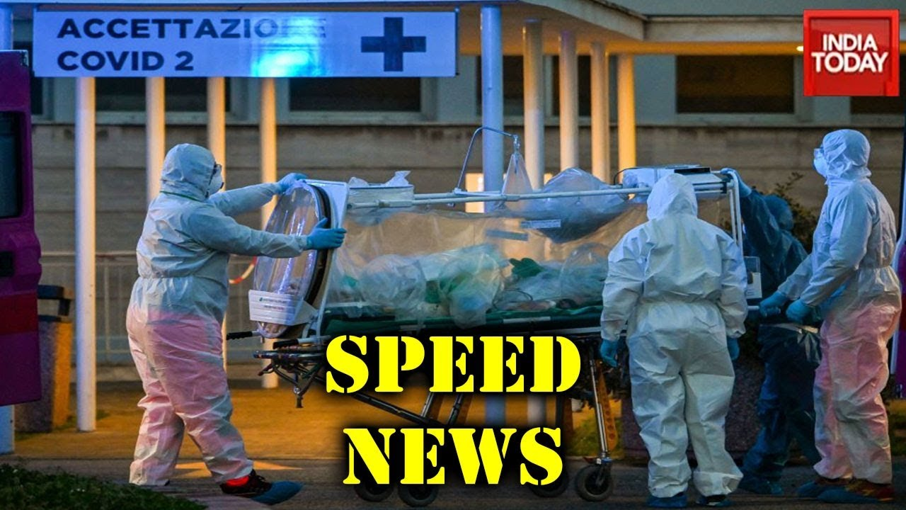 Speed News | Coronavirus Deaths In Italy Overtake China | March 20, 2020