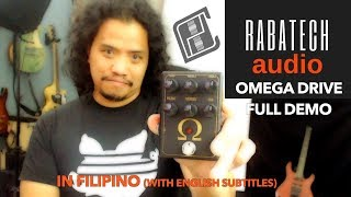 Rabatech Audio Omega Drive| Full Demo in FILIPINO with English subtitles